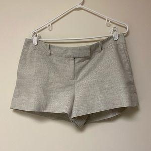 Loft Gold Glitter Shorts women's size 12